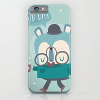 Snazzy Bear Says Good Day iPhone 6 Slim Case