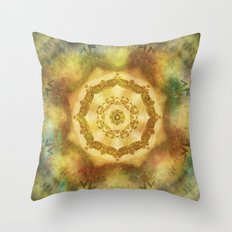 Tribal Mandala Throw Pillow
