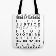 The Jewels Of Life Tote Bag