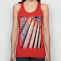 Stairs Unisex Tank Top