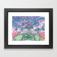 Griffith Observatory Framed Art Print