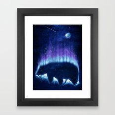 The Alaskan Grizzly Framed Art Print