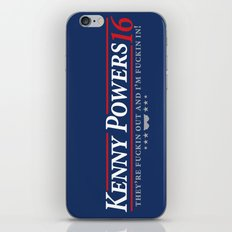 Kenny Power 2016 iPhone & iPod Skin