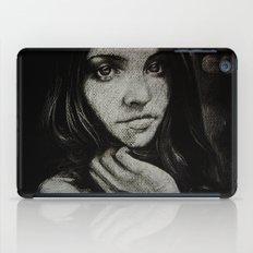 Charcoal experiment #5 iPad Case