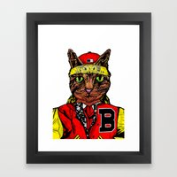 Thai Cat Framed Art Print