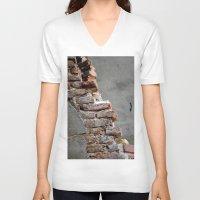 Bricks Unisex V-Neck