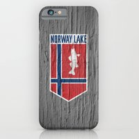 iPhone & iPod Case featuring NORWAY LAKE / Sunburg / 2,327 acres by Branding 10,000 Lakes