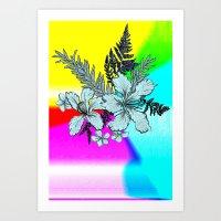 Tropical Trip Art Print