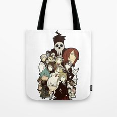 Soul Eater Characters Tote Bag