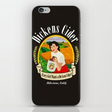 Dickens Cider iPhone & iPod Skin