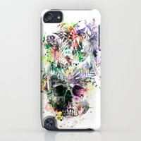 iPod Touch Cases featuring Skull - Parrots 2 by RIZA PEKER