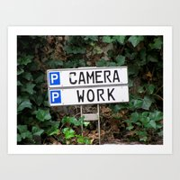 Camera Work Art Print