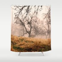 Natural Mystic in the Air Shower Curtain