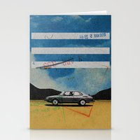 W. Rong | Collage Stationery Cards
