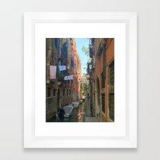 Venetian Waterway 2 Framed Art Print