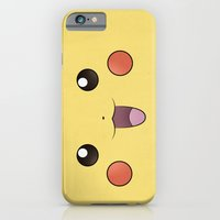 Pikachu - Minimal Pokemo… iPhone 6 Slim Case