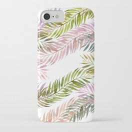 Clear iPhone Case - tropical florest - franciscomffonseca
