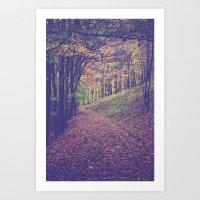 Mountain Path Art Print