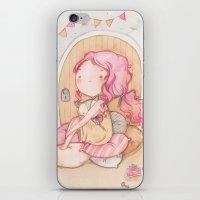 Hobbit Girl iPhone & iPod Skin