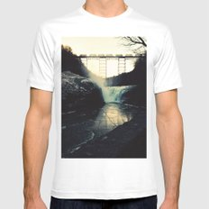 trestle dusk Mens Fitted Tee White SMALL
