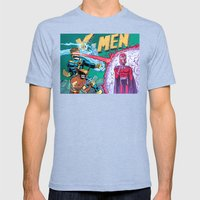 X-Men! Mens Fitted Tee Tri-Blue SMALL