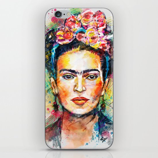 Frida Kahlo iPhone & iPod Skin