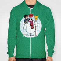 Inflatable Snowman Hoody