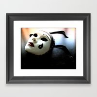 Abandoned Artistry Framed Art Print