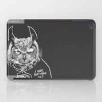 owl or not iPad Case