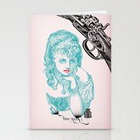 Dainty/Deadly Stationery Cards