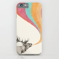 iPhone & iPod Case featuring Elk Song by Zeke Tucker