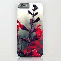 Red Flowers iPhone 6 Slim Case
