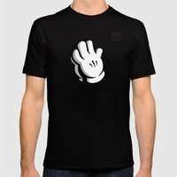 Blessings Mickey Mens Fitted Tee Black SMALL