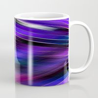 Re-Created  Feather ix by Robert S. Lee Mug