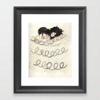 Bed Time Framed Art Print