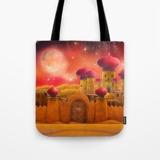 Aladdin castle Tote Bag