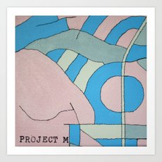 Hacienda Art Print