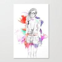 Top Shop Runway Canvas Print