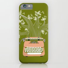 The Typing Tree Pink iPhone 6 Slim Case
