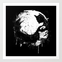 Dark Moon Art Print