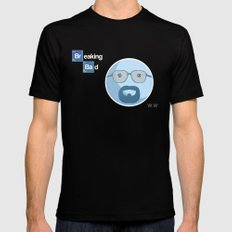 Breaking Bad Blue Sky Version SMALL Mens Fitted Tee Black
