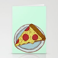 Pizza Experiment Stationery Cards