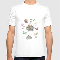 Ramen Mens Fitted Tee White SMALL