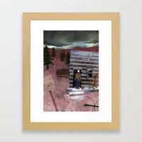 Molson Framed Art Print