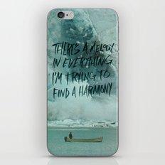 HARDER HARMONIES iPhone & iPod Skin