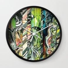 faded 1 Wall Clock