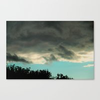 can you tell blue skies from pain? Canvas Print