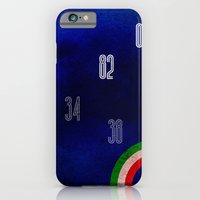 iPhone & iPod Case featuring Italy World Cup by David Curry