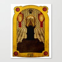 The Hall Of The Mountain King Canvas Print
