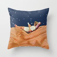 Throw Pillow featuring INDEPENDENCE DAY by Beth Hoeckel Collage…
